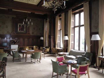 Keele Hall Common Room, � Stephen Clifford, August 2011